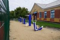 Школа с.Алексеевка спортивная площадка